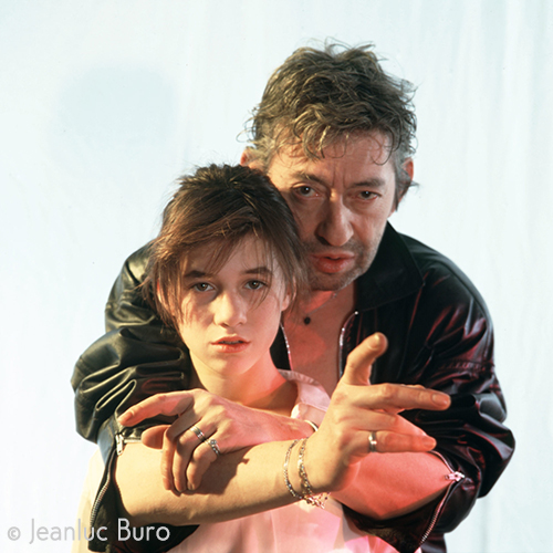 Serge et Charlotte Gainsbourg for Rock'n Folk magazine