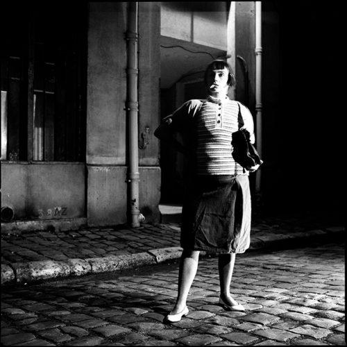Catherine RINGER from RITA MITSOUKO famous Brassai's photography