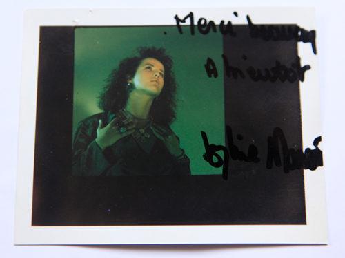 Sophie Marceau polaroid
